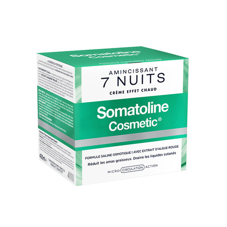 Traitement amincissant intensif 7 nuits - 400 ml - Somatoline Cosmetic