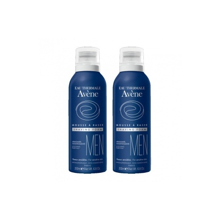 Men - Mousse à raser - Lot de 2 x 200 ml - Avène