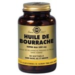 Huile de bourrache Super gla 300 mg - 60 capsules