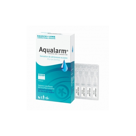 Aqualarm Solution lubrifiante - 20 unidoses de 0.6 ml