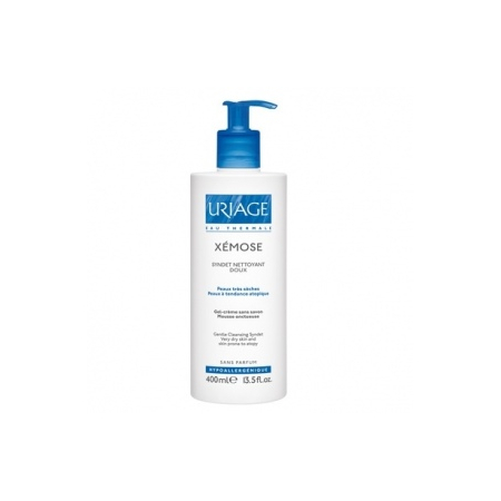 Xémose Syndet Nettoyant doux - 400 ml - Uriage