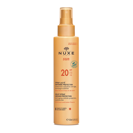 Sun - Spray lacté moyenne protection SPF20 - 150 ml - Nuxe