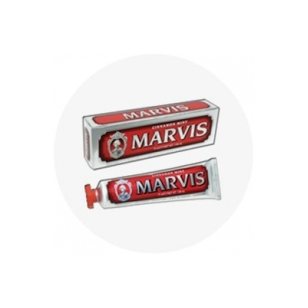 Dentifrice Menthe Cannelle (Marvis Cinnamon Mint) - 75ml - Marvis