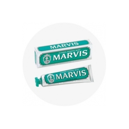 Dentifrice Menthe Forte (Marvis Classic Strong Mint) - 75ml - Marvis
