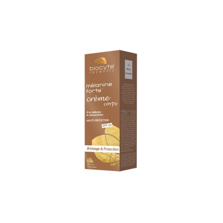 Mélanine Forte Crème corps Bronzage & Protection SPF50 - 150ml
