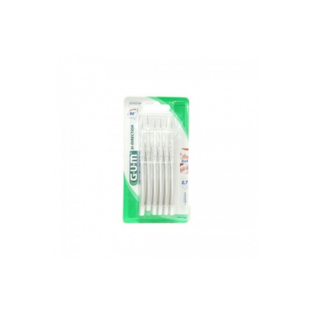 Brossettes interdentaires Bi-Direction 0,7 mm - 6 pièces
