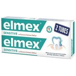 Dentifrice Sensitive -  2 tubes de 75ml - Elmex