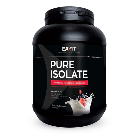 Pure Isolate Fruits Rouges 750g