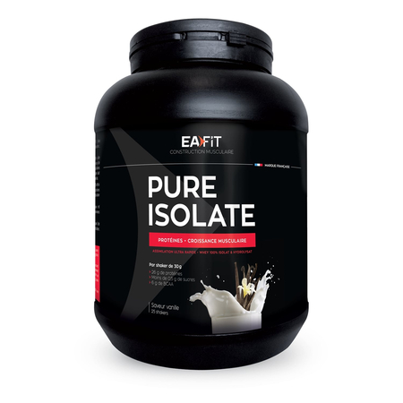 Pure Isolate Vanille 750g - Eafit