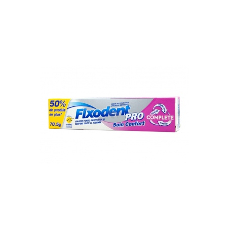 Fixodent soin confort grand format 70g