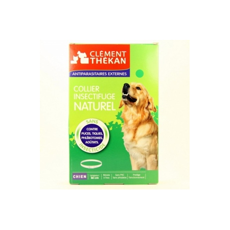 Collier Insectifuge Naturel - Chien
