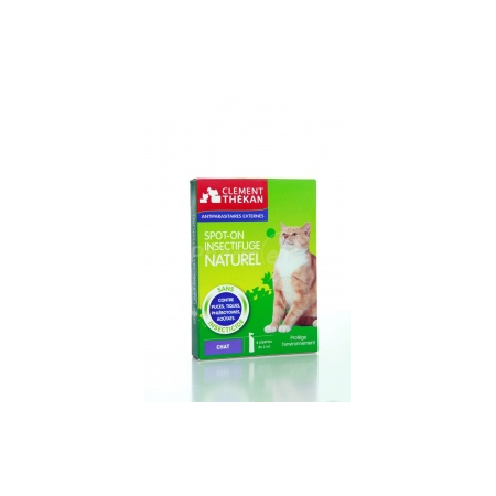 Spot-on insectifuge naturel chat - 4pipettes