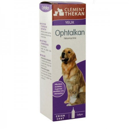 Ophtalkan - Collyre Yeux - 25ml - Clement Thekan