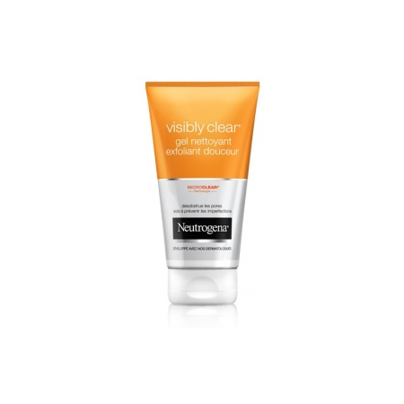 Visibly Clear Gel nettoyant exfoliant douceur 150 ml
