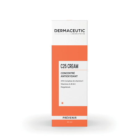 C25 CREAM Concentré antioxydant - 30 ml - Dermaceutic