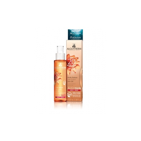HUILE SOLAIRE AGE PROTECT SPF 20