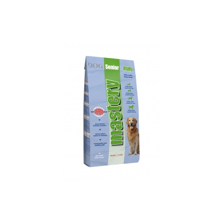 CROQUETTES MASTERY SENIOR VITALITY POUR CHIENS SAC 13,5 KG - Mastery