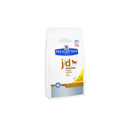 Prescription Diet Canine J/D Reduced Calorie 4 kg articulation croquettes chien - Hill's Pet Nutrition