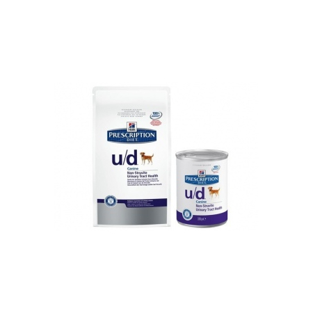 CROQUETTES HILL'S PRESCRIPTION DIET CANINE U/D 12 BOÎTES DE 370 G - Hill's Pet Nutrition