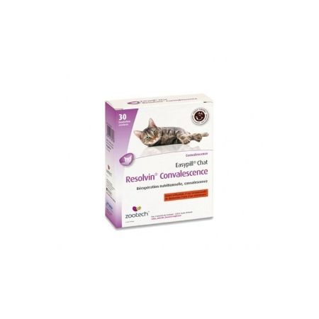 EASYPILL RESOLVIN CONVALESCENCE POUR CHATS - Zootech