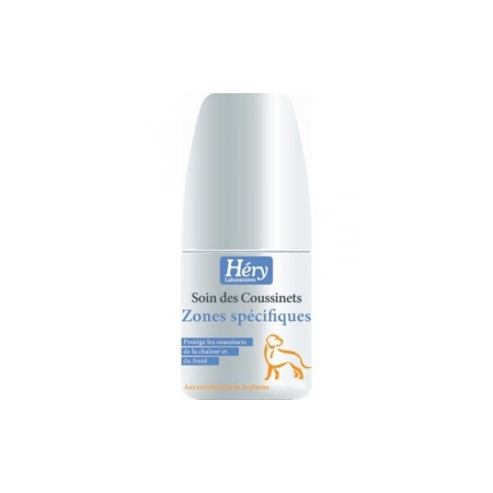 GEL HERY SOIN DES COUSSINETS POUR CHIENS LOTION 70 ML - Hery