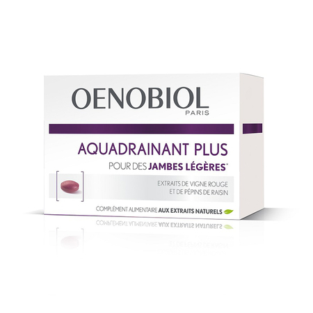 Aquadrainant Plus - 45 comprimés - Oenobiol