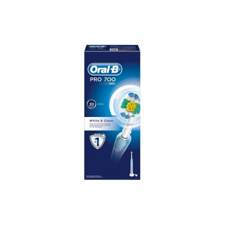 Brosse à Dents Électrique Professional Care 700 White and Clean - Oral-b