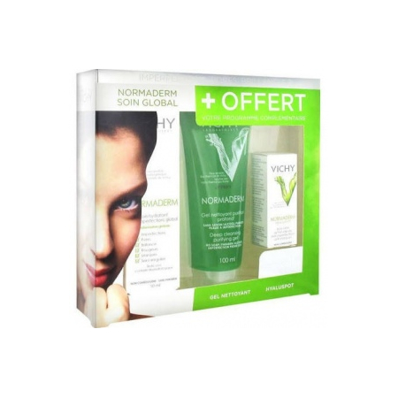 Vichy Normaderm coffret soin global - soin hyaluspot offerts