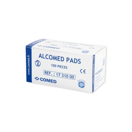 Tampons d'alcool à 70° ALCOMED PADS