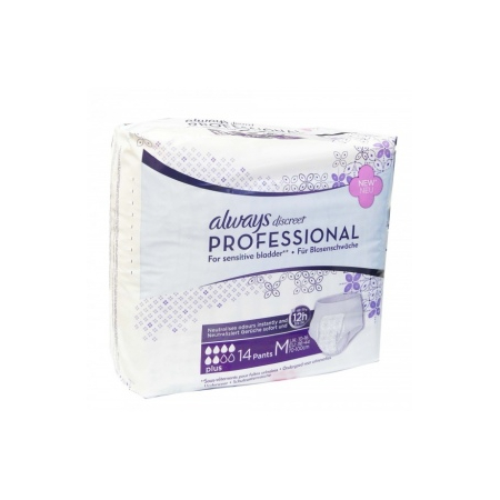 Always PLUS discreet Professional Taille M Paquet de 14 protections