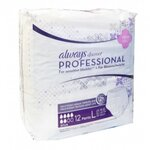 Always PLUS discreet Professional Taille L Paquet de 12 protections