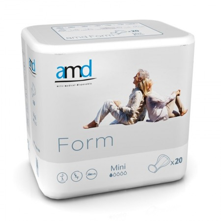 Form Cotton Feel Mini - 20 protections anatomiques - AMD