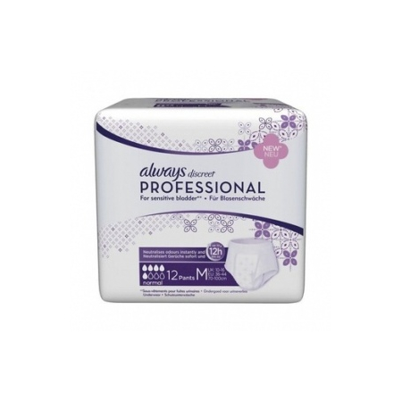 Discreet Professional Normal taille M - paquet de 12 protections