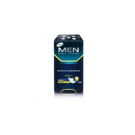 Men Protections pour homme niveau 2 medium - paquet de 20 protections