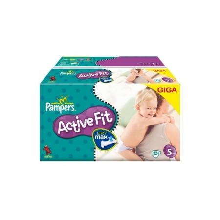 PAMPERS 5 BABY DRY 4X35 COUCHES