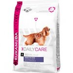 croquettes eukanuba adulte daily care peau sensible sac 12 kg