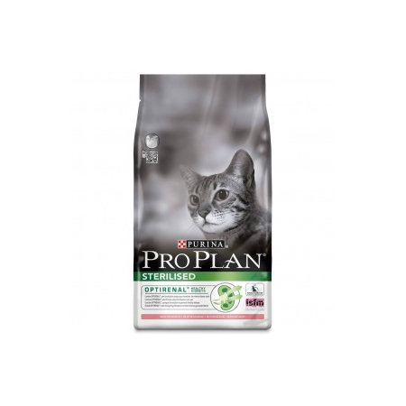 Pro Plan Cat Sterilised Saumon 1.5 kg Croquettes chat OPTIRENAL