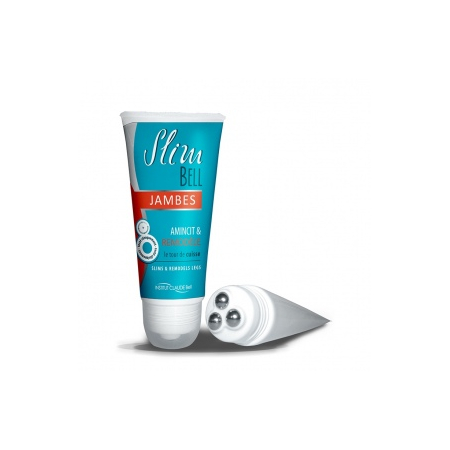 Soin Amincissant et Remodelant Jambes - Roll-On 50 ml 3 tetes billes