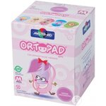 ortopad junior for girls compresse oculaire 50 pièces