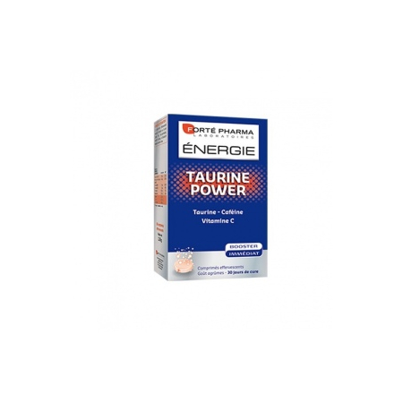 Energie Taurine Power- 15 comprimés effervescents - Forte Pharma