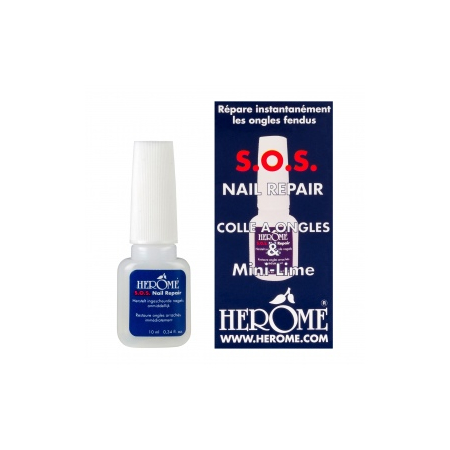Colle à  ongles et Mini Lime 10ml