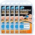 Pile Auditive DURACELL Activair 675 - 5 plaquettes