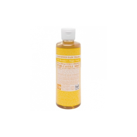 Citrus Orange Castile Liquid Soaps - 236 ml