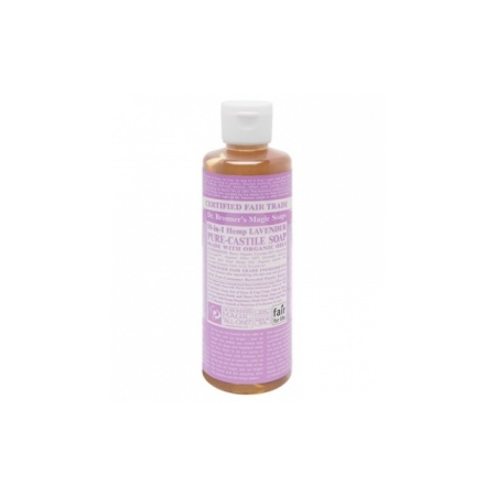 Lavender Castille savon liquide - 236 ml - Dr. Bronner's Magic
