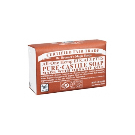 barsoaps Eucalyptus - 140 g - Dr. Bronner's Magic