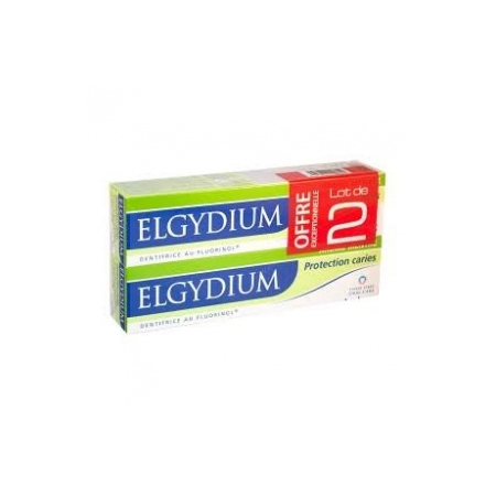 Elgydium Protection caries Lot de 2x75ml