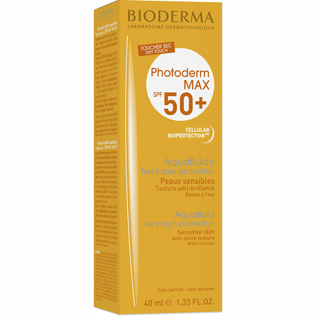 Photoderm Max Aquafluide incolore SPF50+ - 40ml - Bioderma