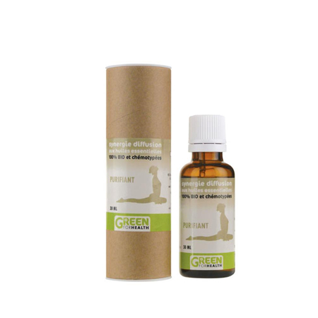 Huile Essentielle Synergie Diffusion Purifiant Bio 30 ml