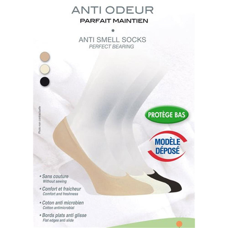 Protège Pieds Anti-Odeur Taille 38/40