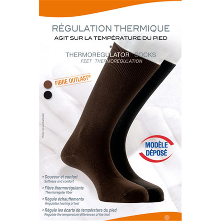 Chaussettes Thermorégulantes Marron T44/46